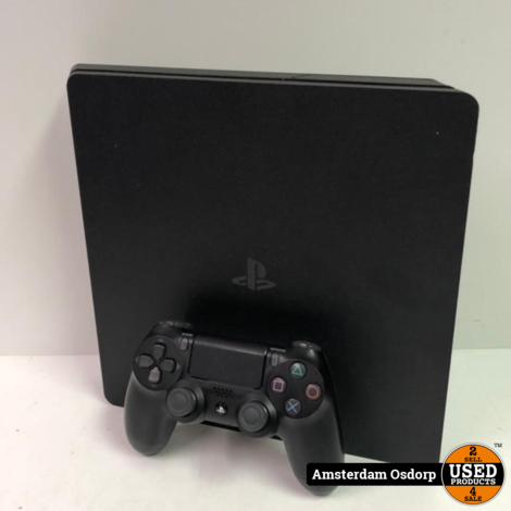 Playstation 4 slim 500Gb + Controller | Nette staat
