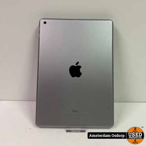 Apple iPad 6th Gen 2018 128GB Space Gray | Nette Staat