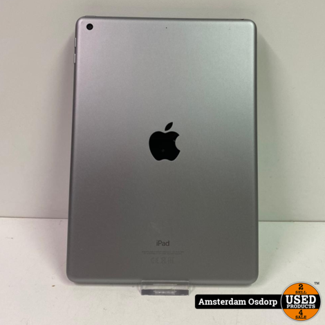 iPad 6th Generation Zwart | 32GB | Nette staat