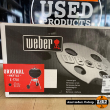 Weber Weber Orignal Kettle E5710 Black | Nieuw