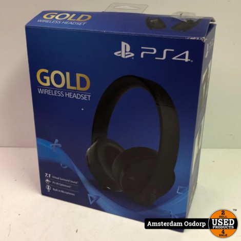 PS4 Gold Edition Headset | Nette staat
