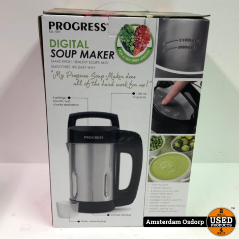 Progress Digital Soupmaker | Nieuw in doos