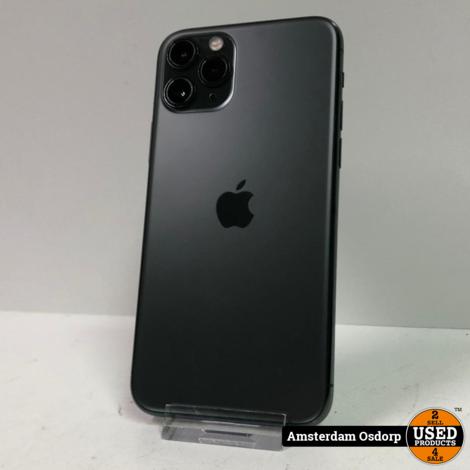 Apple iPhone 11 pro 64GB Midnight Green | batterij 98% | nette staat