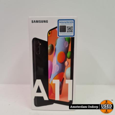 Samsung Galaxy A11 32Gb zwart | NIEUW