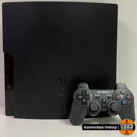 Playstation 3 slim 160GB Zwart + Controller