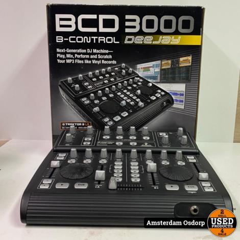 Behringer BCD-3000 B-Control Deejay Compleet