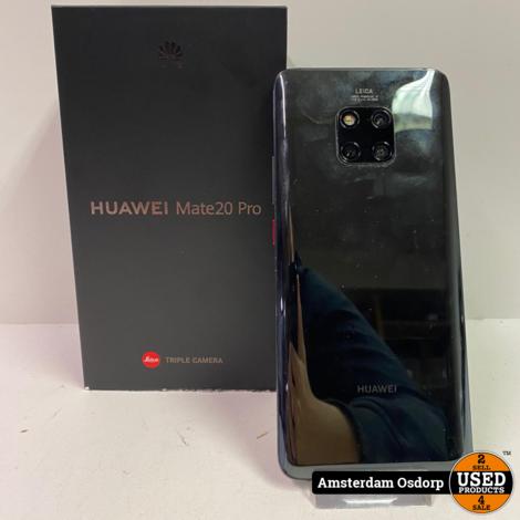 Huawei Mate 20 Pro 128Gb Zwart | Nette Staat