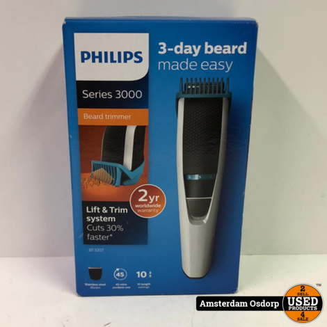 Philips Series 3000 BT3207 | Nieuw in Doos