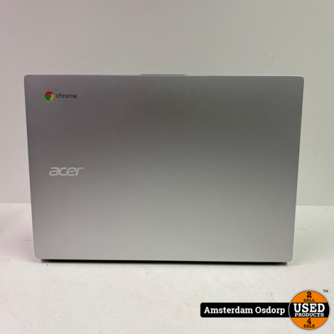 ACER Chromebook 514 (CB514-1H-C8PA) 64 GB Zilver | Nette staat