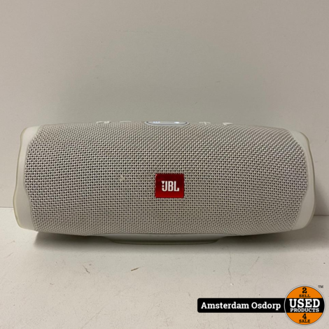 JBL Charge 4 Wit   Nette Staat