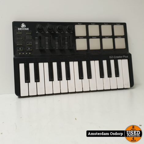 Devine EZ-Creator Plus Midi keyboard   Nette Staat
