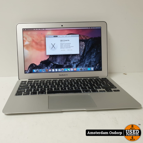 Apple Macbook Air 11'' Early 2015 128GBSSD/i5/146 cycli
