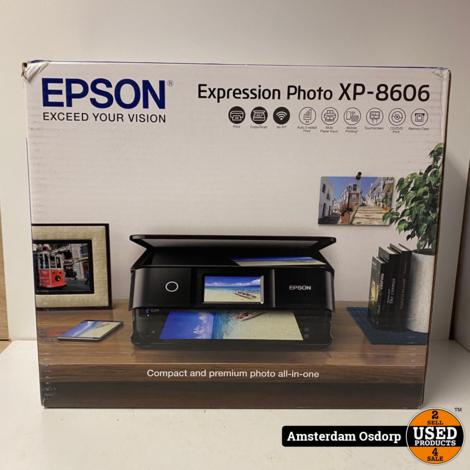 Epson XP-8606 Printer Nieuw in Doos