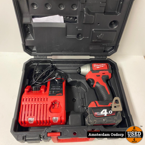 Milwaukee M18 BLID Incl Accu + lader