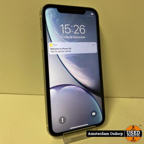 Apple iphone Xr 128GB Zwart | nette Staat