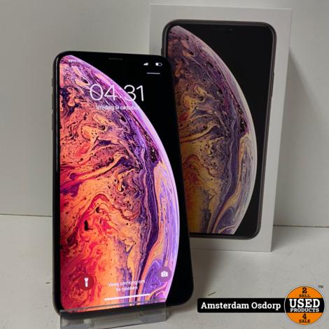 Apple iPhone Xs Max 64GB Gold   Nette Staat   89 batterij
