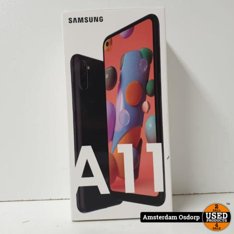 Samsung A11 32GB Zwart NIEUW