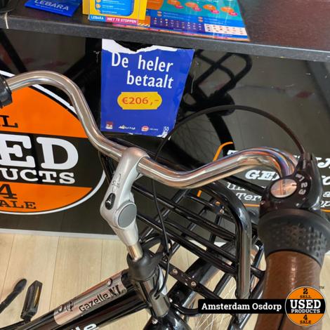 Gazelle DutyNL dames fiets   Zwart   Nette staat