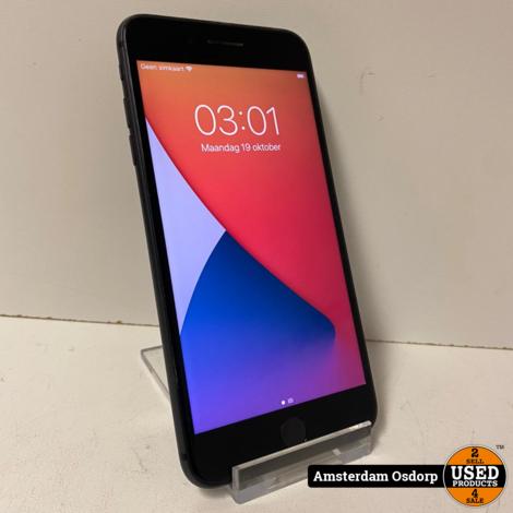 Apple iPhone 8 Plus 64GB Zwart | 93 procent batterij | nette staat