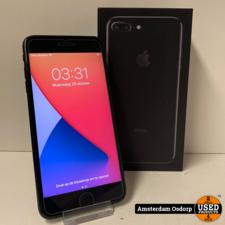 Apple Apple iPhone 7 plus 128Gb Jet Black | batterij 92 procent | nette staat