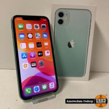 Apple Apple iPhone 11 128GB Green | 2 weken oud | Nieuwstaat