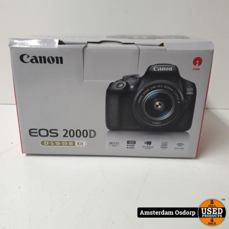 Canon EOS 2000D Body + 18-55mm kitlens | Nette Staat