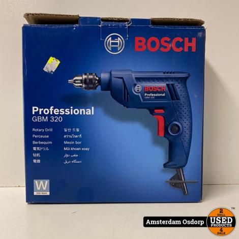 Bosch professional GBM 320 boormachine | Nieuwstaat