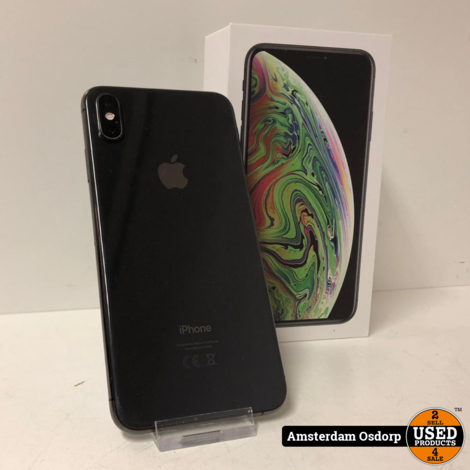 Apple iPhone Xs Max 256GB Space gray | Nette Staat