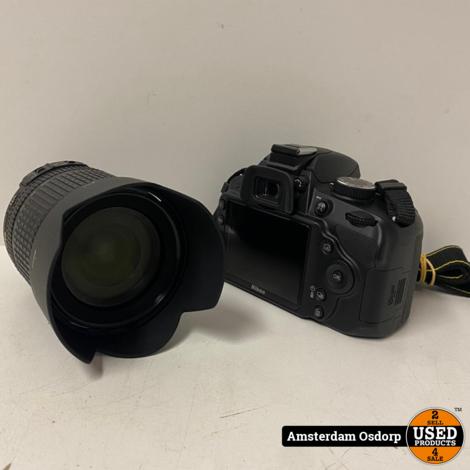 Nikon D3200 Body + 18-105mm lens | 1059 clicks | nieuwstaat