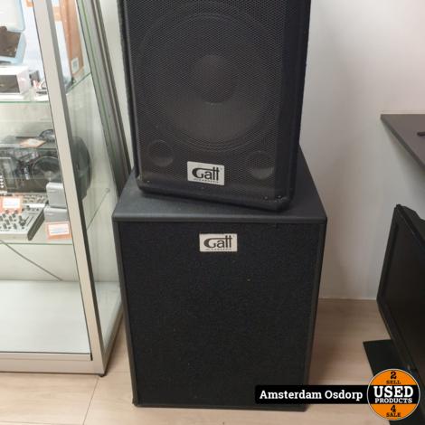 Gatt GA-118S 600W Professional Speaker Cabinet + Top 12'' + Hoes