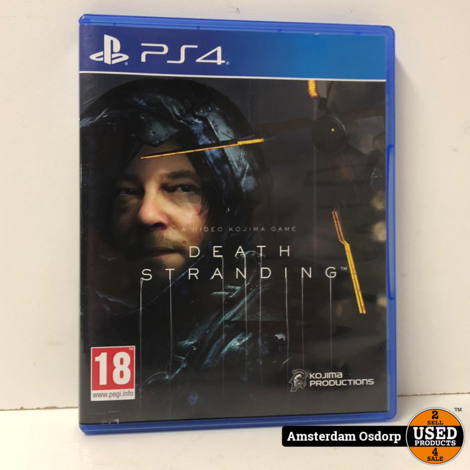 PS4 Game Death Stranding