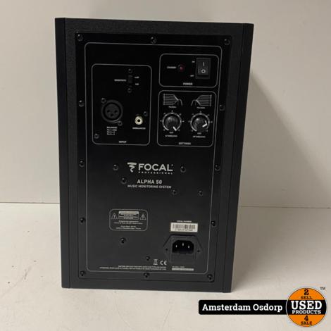 Focal Alpha 50 Monitor Actieve Speaker | ZGAN