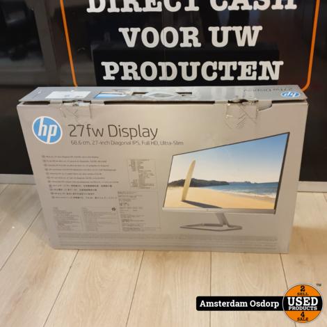 HP 27FW Full Hd display/ Monitor