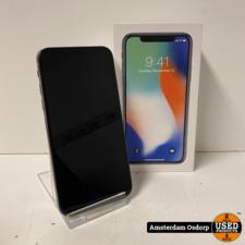 Apple Apple iPhone X 64GB Silver | Nette Staat