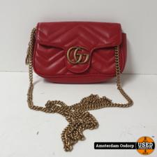Gucci Gucci GG Marmont Matelasse Super mini Bag | Nette Staat