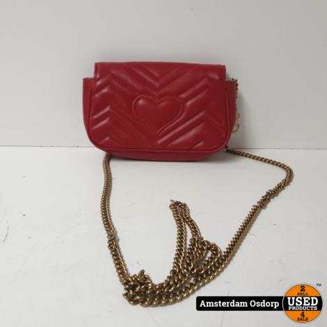 Gucci GG Marmont Matelasse Super mini Bag | Nette Staat