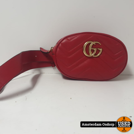 Gucci GG Marmont Leather Beltbag Women