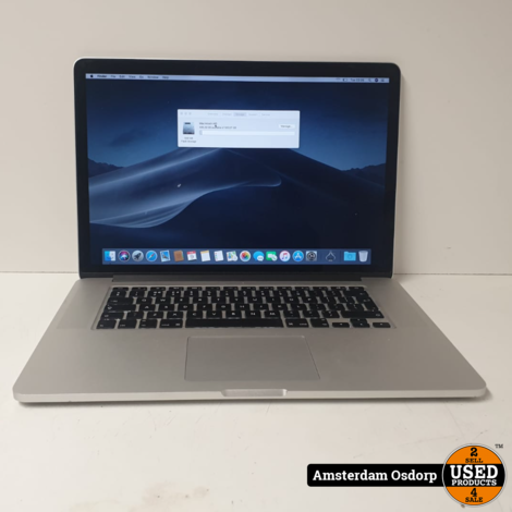 Apple Macbook Pro 15  2013 | 16GB | 2,3Ghz i7 | 512GB Flash