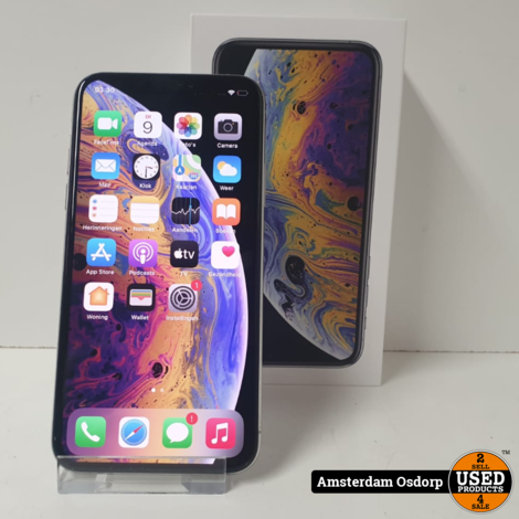 Apple iPhone Xs 64GB Silver | Nette Staat