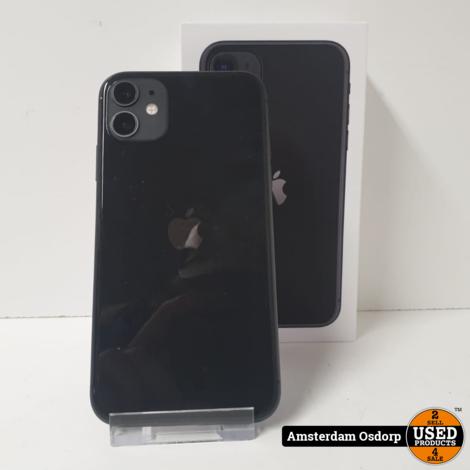 Apple iPhone 11 64GB Zwart | Nette Staat