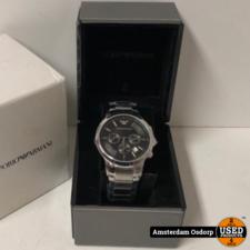 Armani Emporio Armani Chrono AR-2434 Horloge | NIEUW