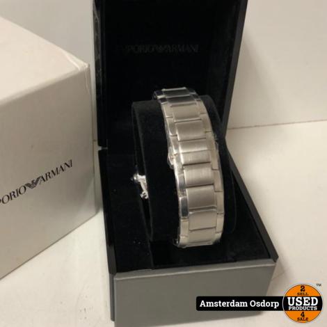 Emporio Armani Chrono AR-2434 Horloge | NIEUW