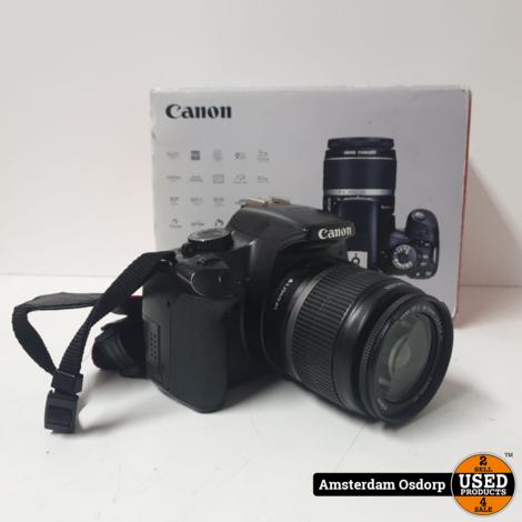 Canon EOS 450D + 18-55mm kitlens | compleet in doos