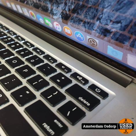 Apple macbook Pro 15 2015 | i7 2,5 Ghz | 16GB  | 500SSD | 349 Cycli
