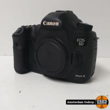 Canon Canon 5D mark 3 Body + Lader en Extra Batterij