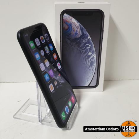 Apple iPhone XR 128GB Zwart | gebruikt