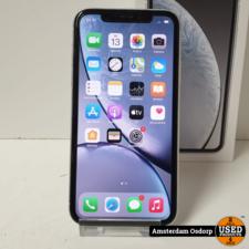 Apple Apple iPhone XR 128GB wit   gebruikte staat