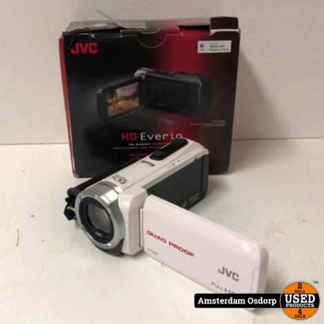 JVC Everio GZ-R15WE Full HD camera wit | zeer nette staat