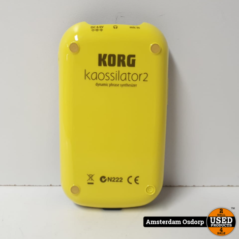 Korg Kaossilator 2 Dynamic Phrase synthesizer looper