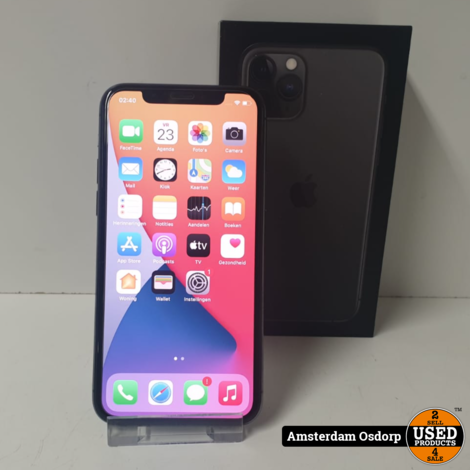 Apple iPhone 11 Pro 64GB Midnight green | gebruikt
